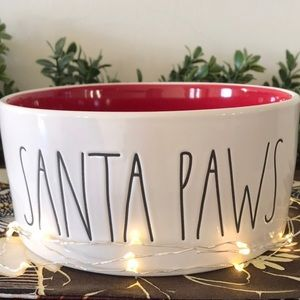Large Santa Paw Bowl